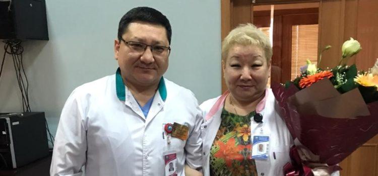 Мы проводили на заслуженный отдых шеф-повара детской городской клинической больницы №2 Олжабулатову Шолпан
